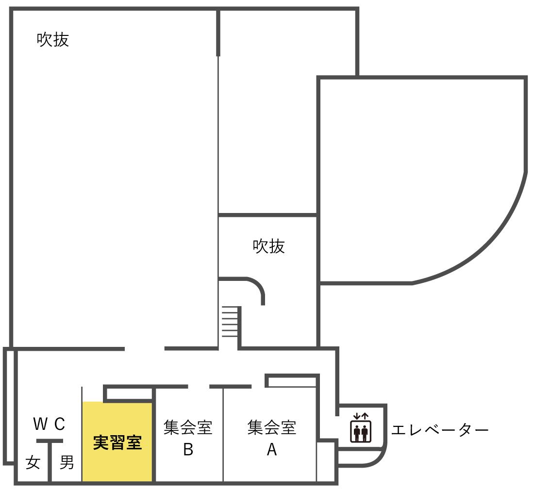実習室 平面図