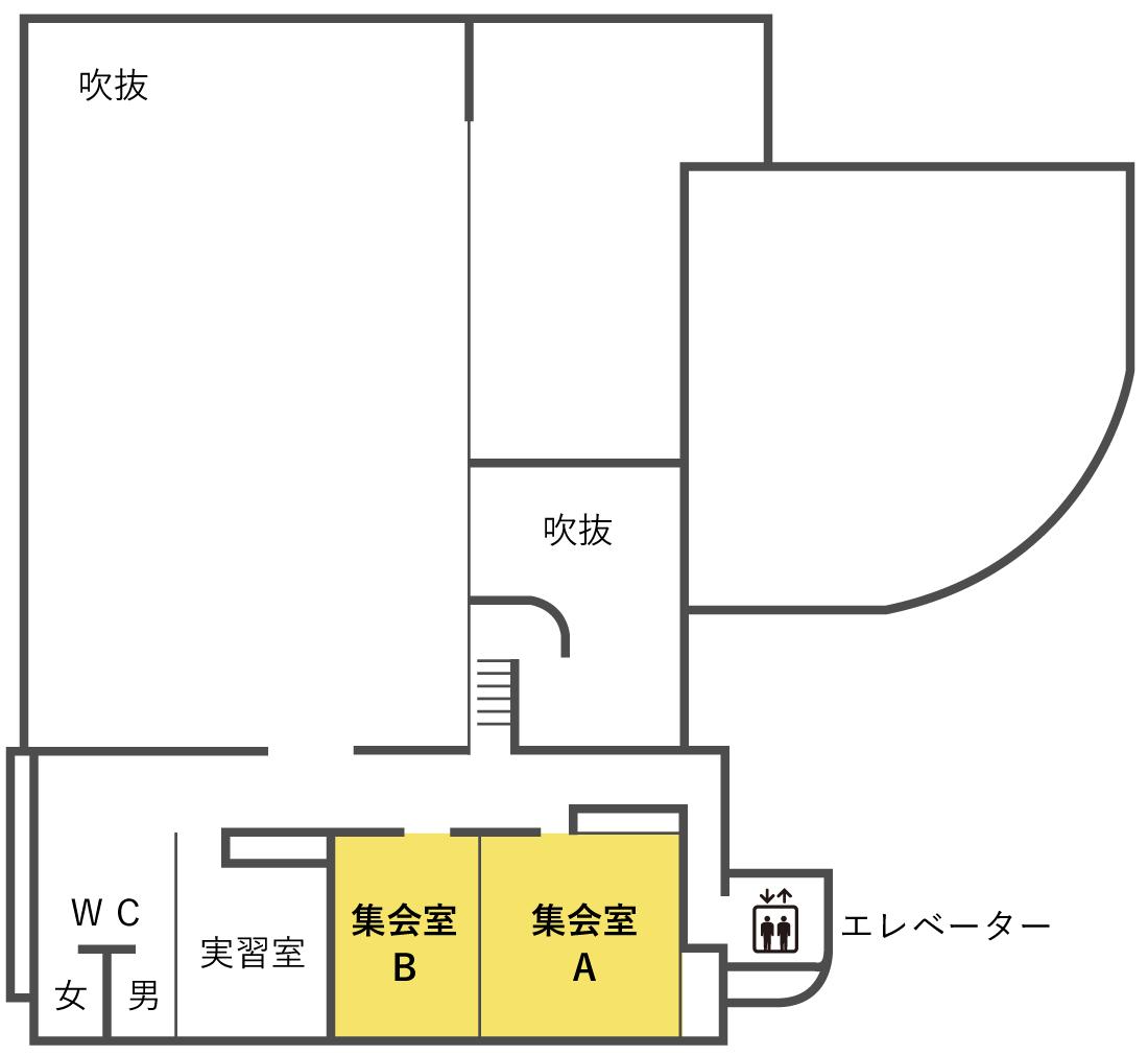 集会室 平面図